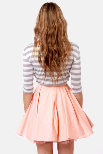 lines girly casual hair precious skirt t-shirt