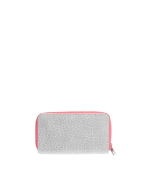 ASOS | ASOS Zip Around Purse With Double Compartment at ASOS