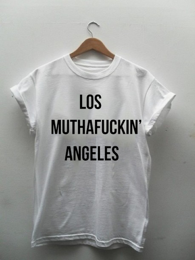 Los Muthafuckin Angeles - Tee · Tee Clique · Online Store Powered by Storenvy