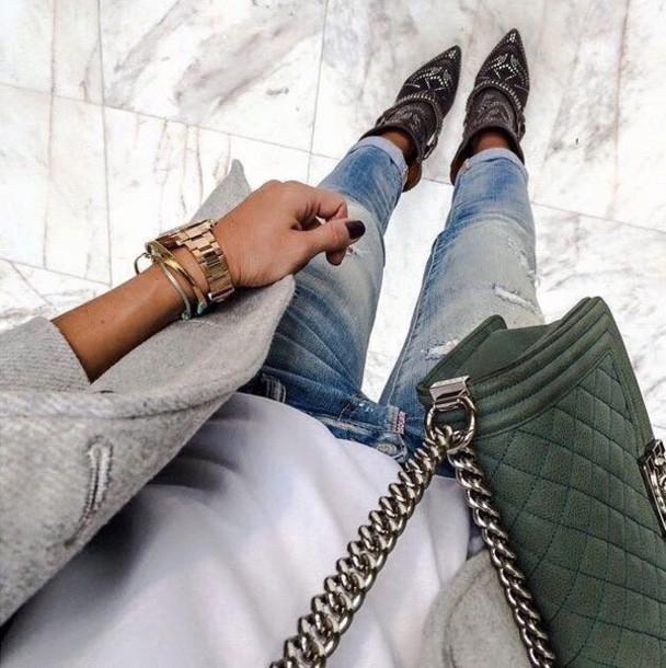 shoes leather heels studded heels black heels studded shoes studded heels studs isabel marant