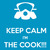 KEEP CALM I'MTHE COOK | TeePublic