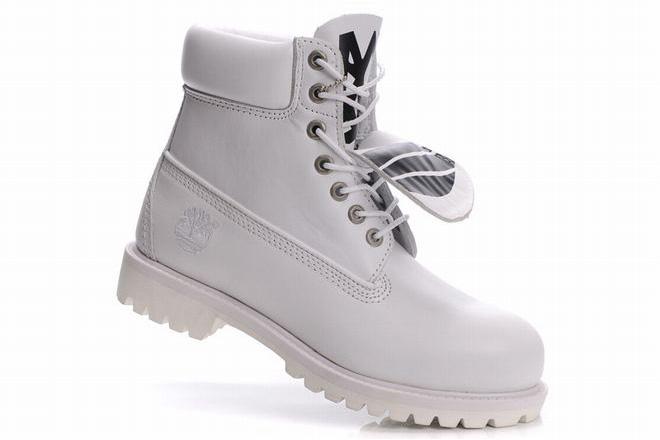 sale Mens Timberland 6 Inch Premium Waterproof Boots White cheap price