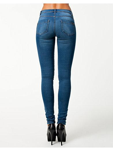 Skinny Reg. Soft Ultimate Jeans - Only - Blå - Jeans - Tøj - Kvinde - Nelly.com