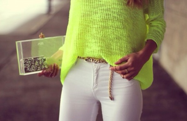 sweater bag jeans