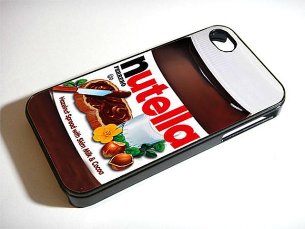 jewels iphone cover iphone phone cover iphone case nuttella nutella