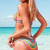 Ladies Strap Floral Pattern Beach Bikini Set Padded Bra Swimwear Swimsuit s M L | eBay