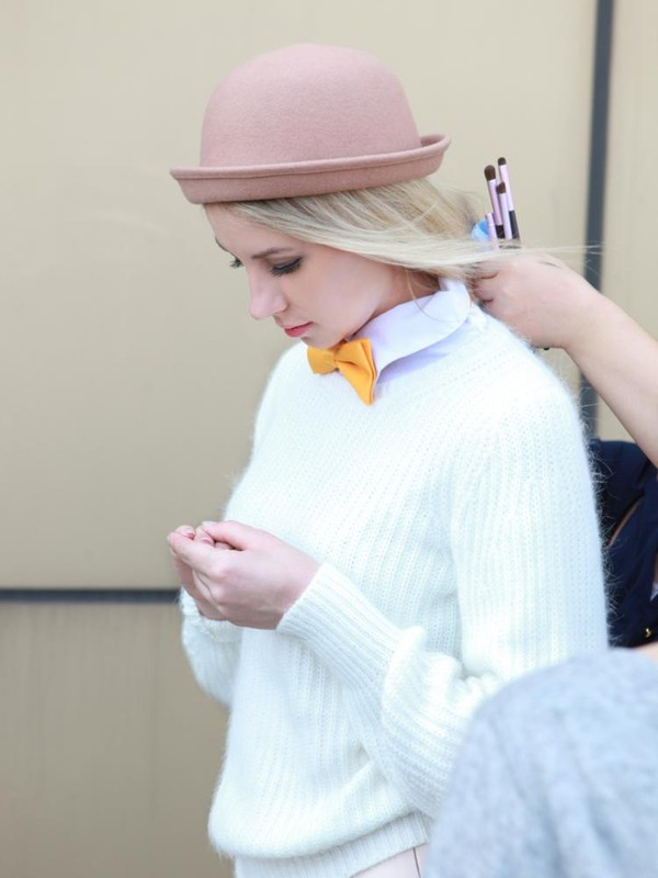 sweater jumper Choies fashiolista wool hat fuzzy sweater white sweater