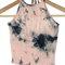 Tie dye crop top (quartz pink)