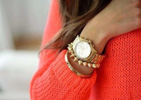 jewels gold watch