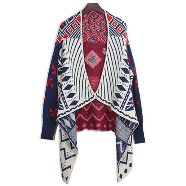 blouse cardigan colorful pop leisure