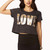 Metallic Love Crop Top | FOREVER21 - 2040495755