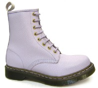 The British Boot Company - Solovair, Grinders, George Cox, Gladiator, Dr Martens, NPS, Hawkins,Tredair, Gripfast - Dr Martens - Lilac QQ Pearl Boot -1460 (8 Eyelet)