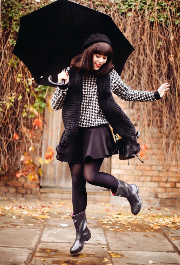 wish wish wish sweater skirt scarf bag