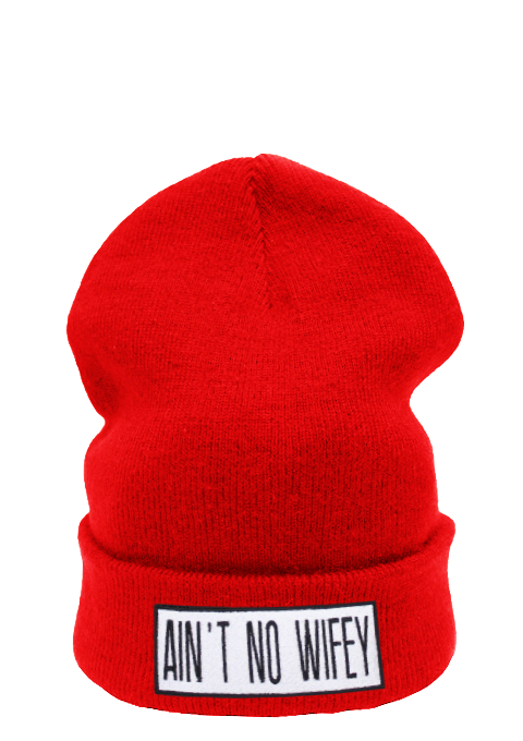 Ain't No Wifey Beanie Hat £8.99   Free UK Delivery   10% OFF