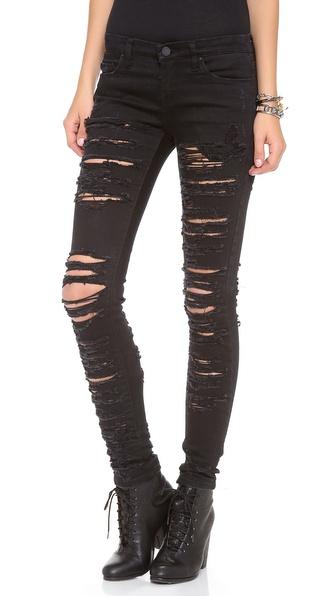 Blank Denim Ripped Skinny Jeans | SHOPBOP