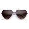 Cute metal heart shape love lolita sunglasses 8737