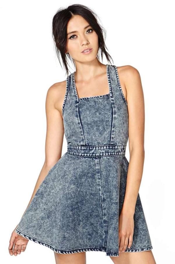 dress minkpink sundays dress mini dress denim dress