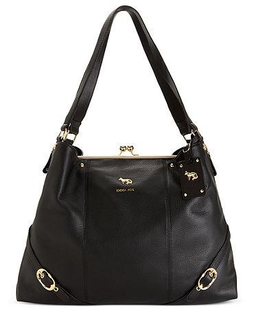 Emma Fox Dressage Leather Frame Shoulder Bag - Handbags & Accessories - Macy's