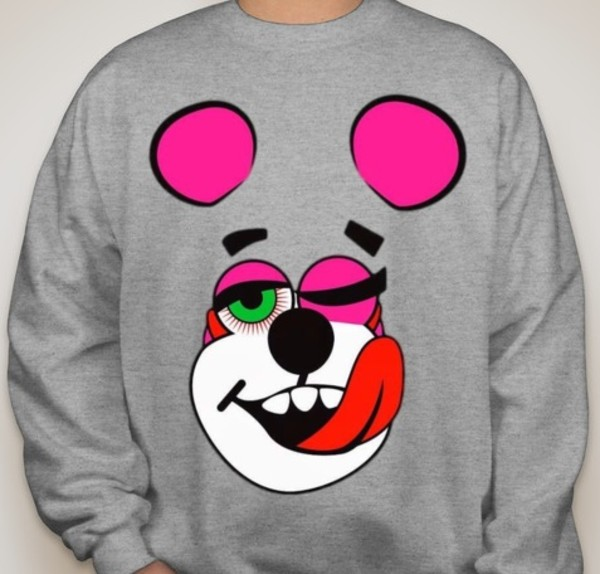 sweater bear miley cyrus