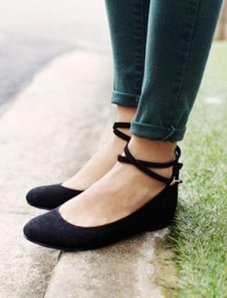 shoes black ballerina platform ballerinas ballet flats black shoes black flats straps strappy shoes ballet flats