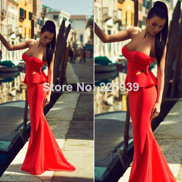 Aliexpress.com : Buy BBY Sexy Sweetheart Ruffles Mermaid Sweep Train Elegant Red Evening Dress Formal Long Dress Special Occasion Dress from Reliable dresses philadelphia suppliers on Tracy Me