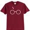 Harry potter lightning glasses t-shirt