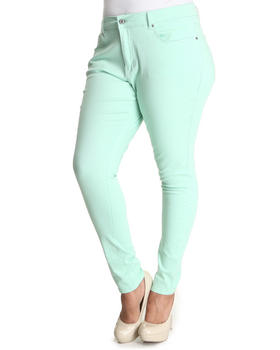 Buy Mint Skinny Jeans (Plus) Women's Bottoms from Basic Essentials. Find Basic Essentials fashions & more at DrJays.com