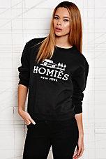 Reason Homies Sweatshirt in Black - Urban Outfitters