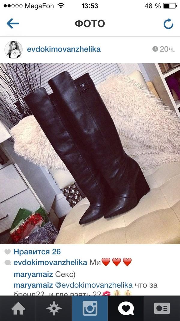 shoes black skins women boots