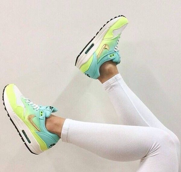 shoes air max sports shoes trainers yellow