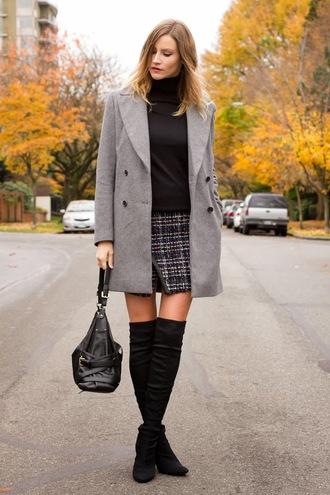styling my life coat t-shirt skirt shoes bag