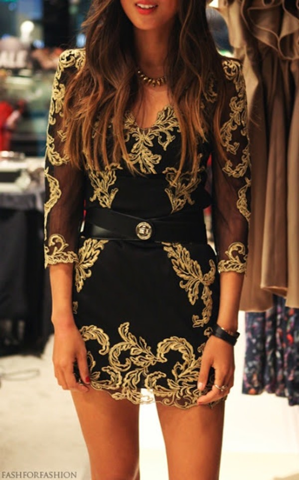 dress black and gold dress belt clothers black dress black and gold party party dress gold dress embroidered dress mini dress black lace gold lace dress elegant dress prom dress black short dress gold black dress all black and gold wishlist black and gold gold gold sexy dresses short golden dress gold dress skirt little black dress casual dress cute dress homecoming dress date outfit gold overlay short dress boho dress going red dress long sleeves short fitted dresses