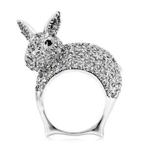 Amazon.com: Pat's Bunny Cocktail Ring: Jewelry