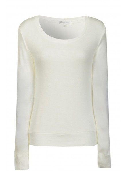Cream Elbow Patch Jumper
