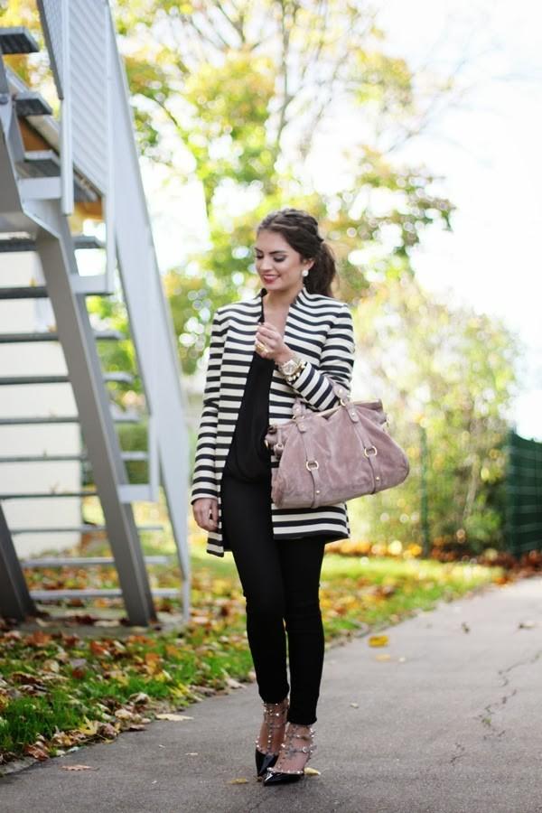 fashionhippieloves coat pants blouse bag shoes jewels