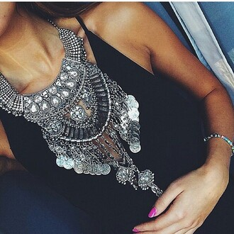 jewels collier colliers argent jewerly