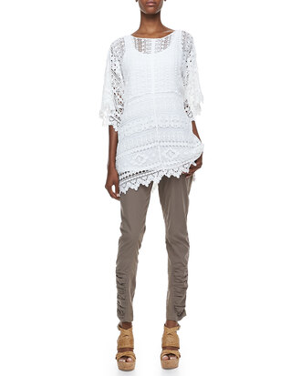top morocco crochet easy tunic undefined xcvi