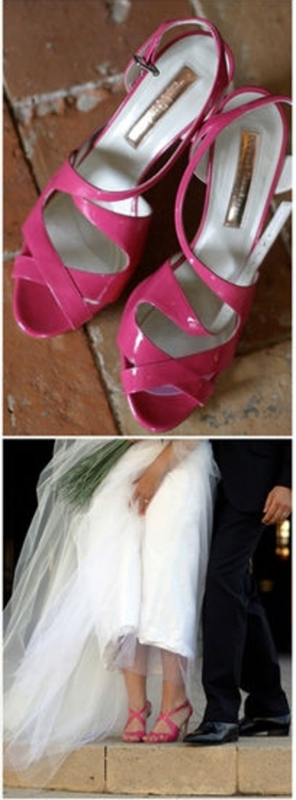 medium heels sandals buckles leather pink shoes shoes