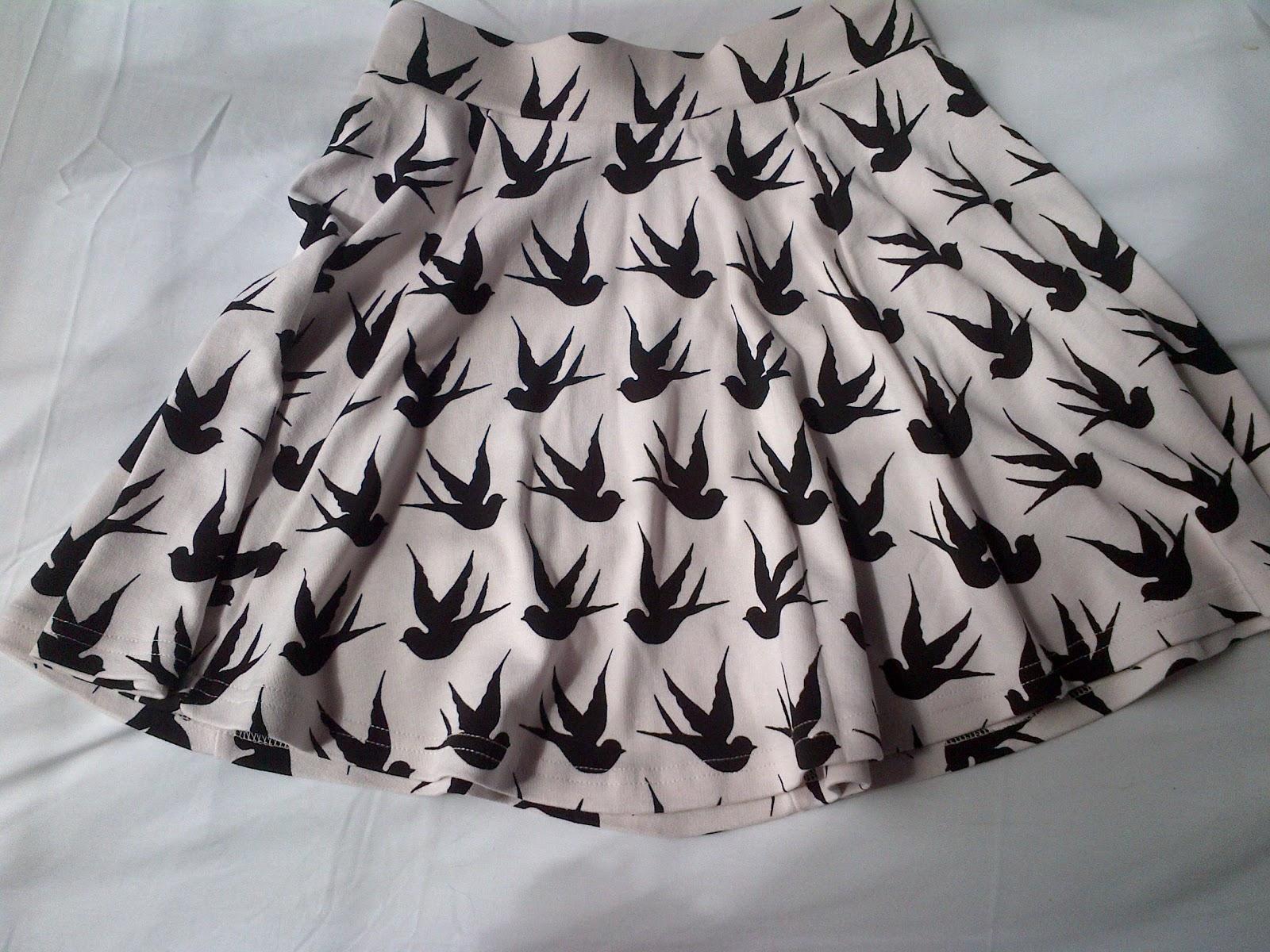 Beautiful Button: The Bird Skirt