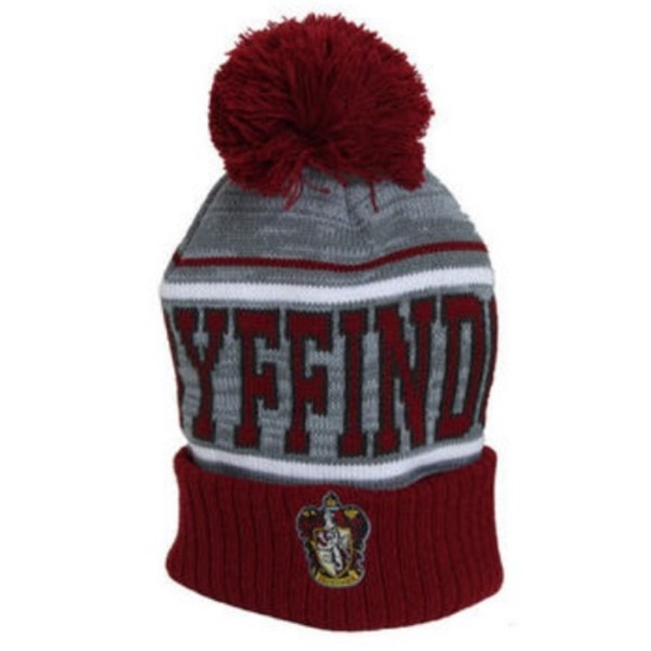 hat harry potter gryffindor beenie