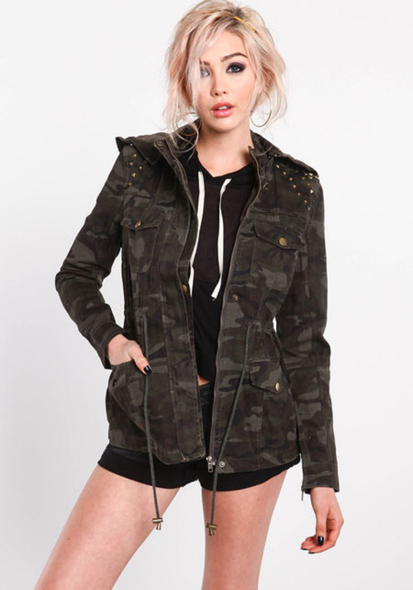 jacket army green jacket camouflage army green jacket