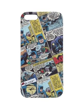 phone cover iphone 5 case batman comics comic con