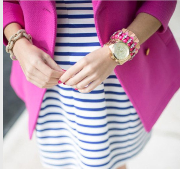 dress jacket coat jewels nail polish