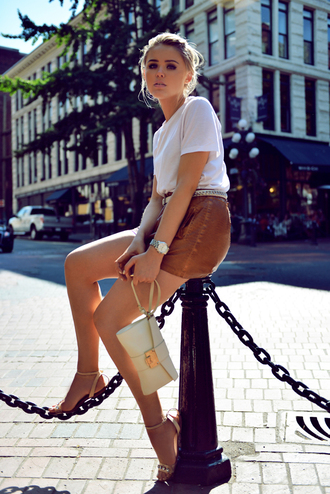 kayture bag shoes shorts shirt jewels belt