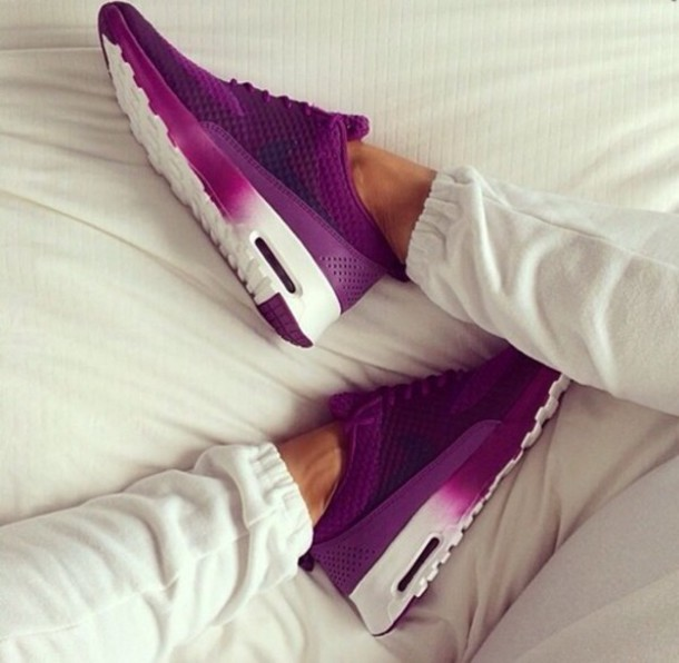 shoes pirple air max trainers pants