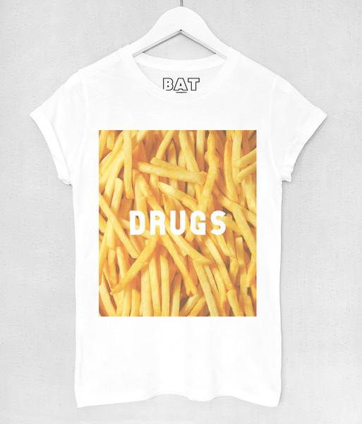Junky Tee - Fries   BATOKO
