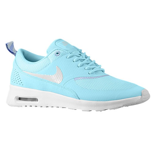 Nike Air Max Thea - Women's - Running - Shoes - Glacier Ice/Purple Fade/White/Light Base Grey