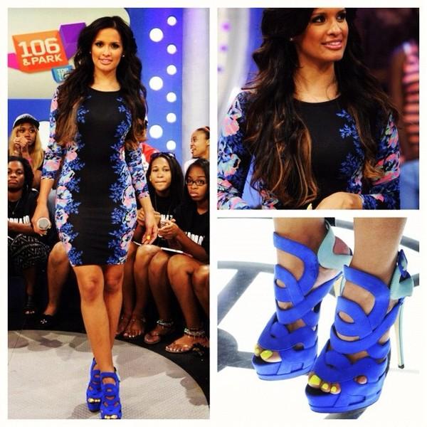 shoes royal blue roman style sandal heels