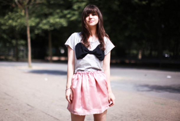 t-shirt bow betty blog de betty topshop