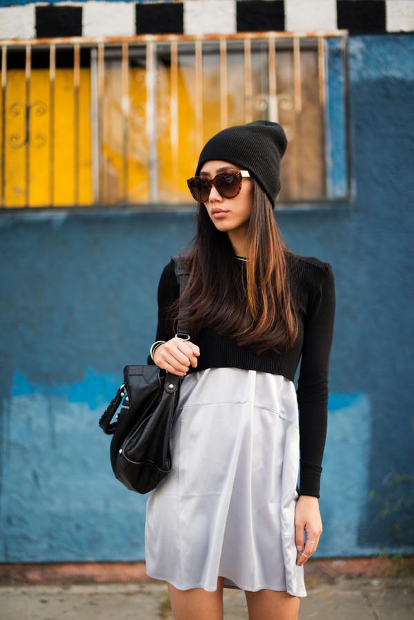 neon blush t-shirt dress hat shoes bag sunglasses